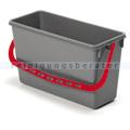 Putzeimer für Reinigungswagen Numatic 15 Liter grau, rot