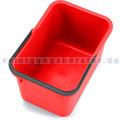 Putzeimer für Reinigungswagen Numatic 17 L Mopeimer rot