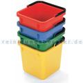 Putzeimer für Reinigungswagen Numatic 6 L rot