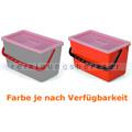 Putzeimer für Reinigungswagen Numatic mit Deckel 22 L rot