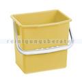 Putzeimer für Reinigungswagen PPS Pfennig Eimer 6 L gelb