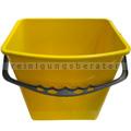 Putzeimer für Reinigungswagen RMV Eimer 6 L gelb