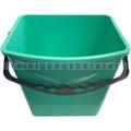 Putzeimer für Reinigungswagen RMV Eimer 6 L grün