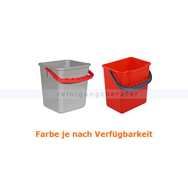 Sprintus 301101 Putzeimer 4 L rot Ersatzeimer für Putzwagen