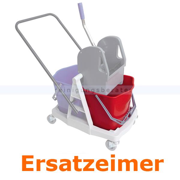Putzeimer für Reinigungswagen Sprintus Kunststoff 27 L rot