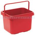 Putzeimer für Reinigungswagen TASKI Eimer 7 Liter rot