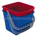 Putzeimer Meiko für Reinigungswagen Chrom Fahrwagen 15 L rot