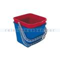 Putzeimer Meiko für Reinigungswagen Chrom Fahrwagen 15L blau