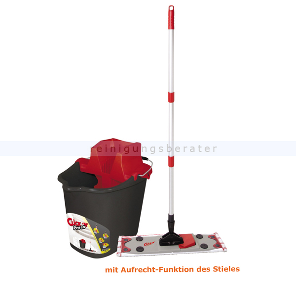 Putzeimer Mop-Set Sprintus Click n Press 3 in 1