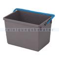 Putzeimer Numatic 10-Liter, grau mit Henkel blau