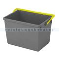 Putzeimer Numatic 10-Liter, grau mit Henkel gelb