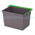 Putzeimer Numatic 10-Liter, grau mit Henkel grün