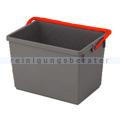 Putzeimer Numatic 10-Liter, grau mit Henkel rot