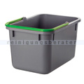 Putzeimer Numatic 17-Liter, grau mit Henkel grün
