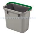 Putzeimer Numatic 4-Liter, grau mit Henkel grün