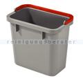 Putzeimer Numatic 4-Liter, grau mit Henkel rot