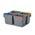 Zusatzbild Putzeimer Numatic 5-Liter schwenkbar, grau mit Henkel blau