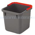 Putzeimer Numatic 6-Liter, grau mit Henkel rot
