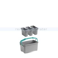 Putzeimer TTS Eroy E09 Mehrzweckeimer ohne Lenkrollen 28 L