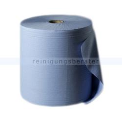 Putztuchrolle blau 3-lagig 38x36 cm