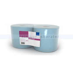 Putztuchrolle Ellis Premium 3-lagig 180 m blau