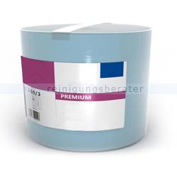 Putztuchrolle Ellis Premium 3-lagig 360 m blau