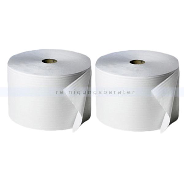 Putztuchrolle Fripa Tissue 2-lagig weiß 950 m