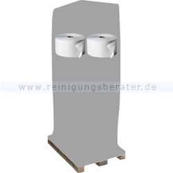 Putztuchrolle Fripa Tissue weiß 2-lagig 28x38 cm, Palette