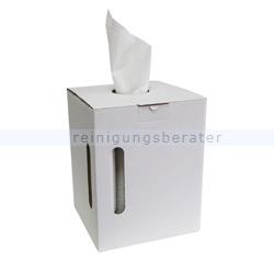 Putztuchrolle Fripa Vliestuchrolle weiß in Spenderbox