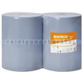 Putztuchrolle KATRIN BASIC-LINE blau, 2-lagig, 38 x 36 cm