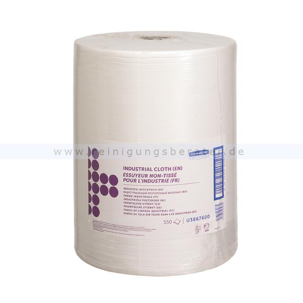 Putztuchrolle Kimberly Clark Industrielle Wischtücher Weiß