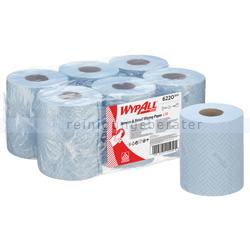 Putztuchrolle Kimberly Clark WypAll L10 AIRFLEX 1-lagig blau