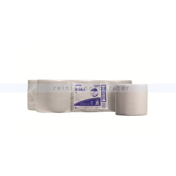 Putztuchrolle Kimberly Clark WYPALL L20 Zentralentnahme weiß