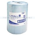 Putztuchrolle Kimberly Clark WYPALL L30 Airflex blau Palette
