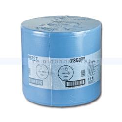 Putztuchrolle Kimberly Clark WYPALL Wischtücher blau
