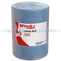 Putztuchrolle Kimberly Clark WYPALL X80 Stahlblau
