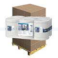Putztuchrolle Lotus Reflex-Midirolle weiß 1-lagig, Palette