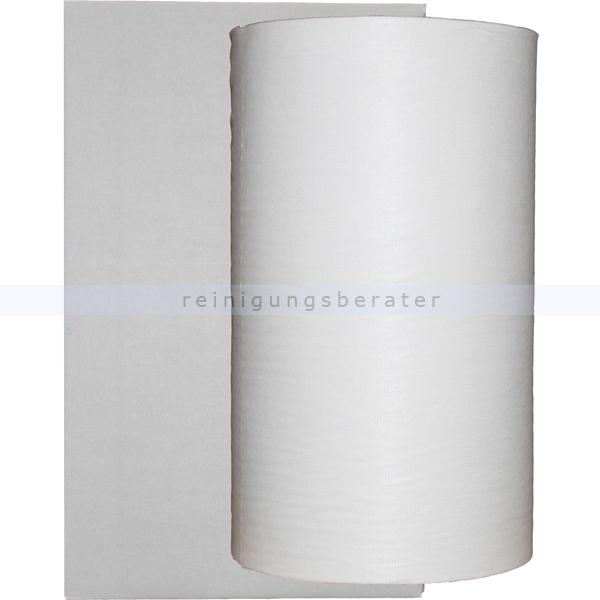 Putztuchrolle Nordvlies WIPEX SUPREME Zupfpbox 1-lagig 106 m weiß