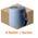 Zusatzbild Putztuchrolle Nordvlies WIPEX WORK M 1-lagig 180 m blau