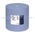 Putztuchrolle Papernet blau 3-lagig 37,6x36 cm