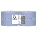 Putztuchrolle Papernet Tissue blau 2-lagig 21,5x36 cm