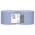 Zusatzbild Putztuchrolle Papernet Tissue blau 2-lagig 22x36 cm