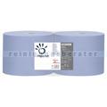 Putztuchrolle Papernet Tissue blau 2-lagig 36x22 cm