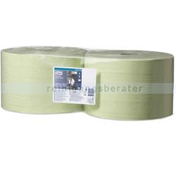 Putztuchrolle SCA Tork Servoil Tissue grün 2-lagig 24x34 cm