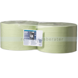 Putztuchrolle Tork 129243 Servoil Tissue 2-lagig 510 m grün