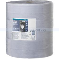 Putztuchrolle Tork Industriewischtücher 3-lagig 340 m blau
