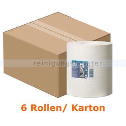 Putztuchrolle Tork Mehrzweck Papiertücher 1-lagig 165 m weiß