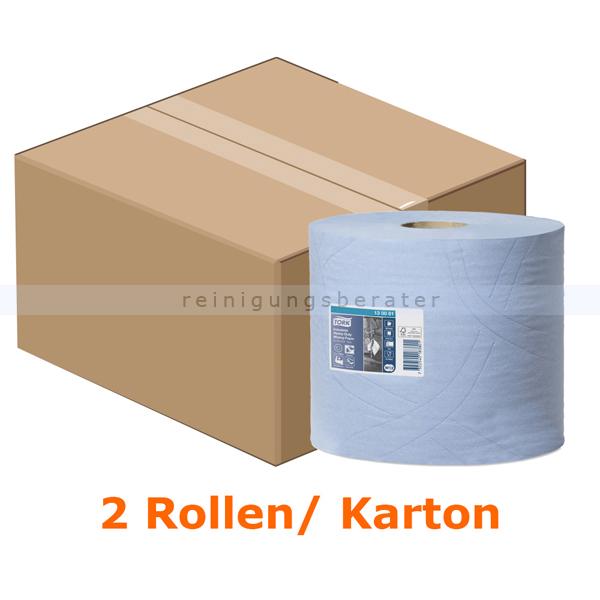 Putztuchrolle Tork Mehrzweck Papiertücher 24x34 cm blau
