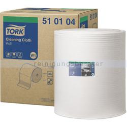 Putztuchrolle Tork Papierwischtücher 1-lagig 380 m weiß