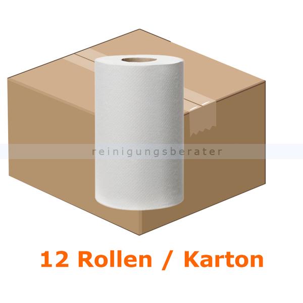 Putztuchrolle Tork Reflex Mini Mehrzweck 1-lagig 120 m weiß